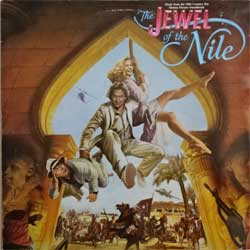 винил LP va THE JEWEL OF THE NILE - OST (1985 Sweden press, HIP 33, vg+/ex-)