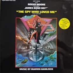 винил LP JAMES BOND 007: THE SPY WHO LOVED ME - OST (1977 UK press, gatefold, laminated, UAG 30098, ex-/ex)