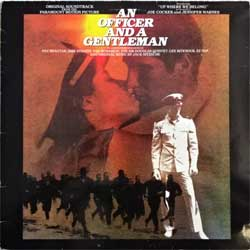 винил LP va AN OFFICER AND A GENTLEMAN - OST (1982 Scandinavian press, ISTA-3, vg+/vg+)