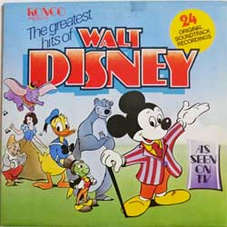 винил LP va The Greatest Hits Of WALT DISNEY (1975 UK press, gatefold, RTD 2013, ex-/ex)