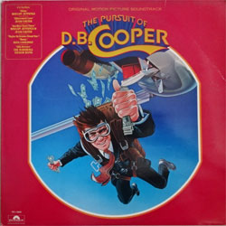 винил LP va THE PURSUIT OF D.B.COOPER - OST (1981 UK press, insert, SUPER POLS 1055, ex+/ex)