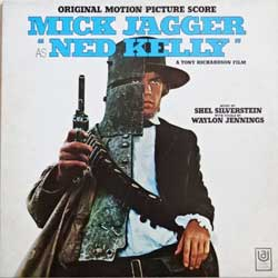 винил LP va MICK JAGGER as ''NED KELLY'' - OST (1970 Australian RARE press, inlcudes track performed by MICK JAGGER!!!, gatefold, SUAL 933812 (UAS 5213), near mint/ex)