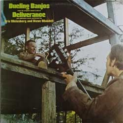 винил LP ERIC WEISSBERG & STEVE MANDELL ''Dueling Banjos: DELIVERANCE OST & Additional Music'' (1973 UK press, K46214 (BS 2683), ex/ex)