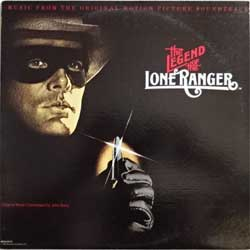 винил LP JOHN BARRY ''The Legend Of The Lone Ranger - OST'' (1981 USA press, MCA-5212, ex/ex)