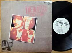 винил LP BEATLES ''A Taste Of Honey'' (1986 RI 1988 USSR RARE UZBEKISTAN press, ТЗГ, белое яблоко, ГОСТ-80, С60 23581 008, vg/vg+)