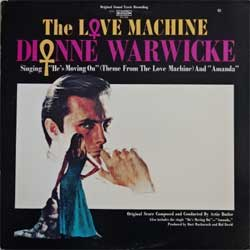 винил LP DIONNE WARWICKE & ARTIE BUTLER ''The Love Machine OST'' (1971 USA press, gatefold, SPS 595, ex-/ex-)