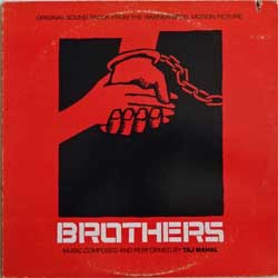 винил LP TAJ MAHAL ''Brothers - OST'' (1977 USA press, BS 3024, ex-/vg+)