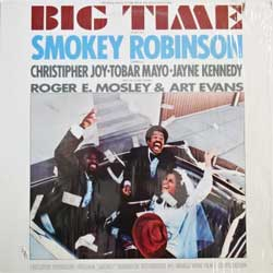 винил LP SMOKEY ROBINSON ''Big Time - OST'' (1977 USA press, T6-355S1, shrink wrap, ex/ex)