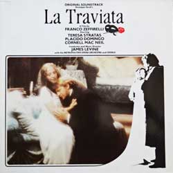 винил LP LA TRAVIATA - OST (2LP-gatefold) (1983 German press, booklette, 25-0072-1, vg+/ex)