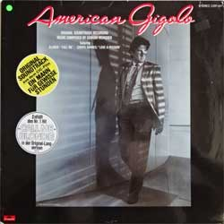 винил LP GIORGIO MORODER ''American Gigolo - OST'' (1980 German press, laminated, 2391 447, vg+/ex)