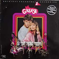 винил LP va GREASE 2 - OST (1982 German press, gatefold, 2394 304, ex-/vg+)