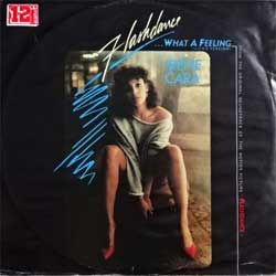 винил LP IRENE CARA ''Flashdance …What A Feeling (Long Version) (from ''Flashdance'' OST)'' (12'') (1983 German press, 812 353-1 O, vg+/vg+)