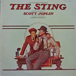винил LP MARVIN HAMLISCH ''The Sting - OST (featuring the music of SCOTT JOPLIN)'' (1974 RI 1982 UK press, MCL 1735 (MAPS 7220), ex/ex)