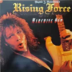 винил LP YNGWIE MALMSTEEN'S RISING FORCE ''Marching Out'' (1985 Canada press, insert, PDS 1 6424, ex/ex+)