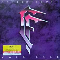 винил LP CELTIC FROST ''Cold Lake'' (1988 South Korea RARE press, insert, sticker, SIPR-022(N 0125-1), near mint/near mint)