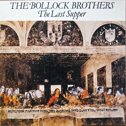 BOLLOCK BROTHERS ''The Last Supper'' (1983 RI 1989 UK press (EEC/France by MPO), CD CHARLY 175, ex-/near mint) (CD) (D)