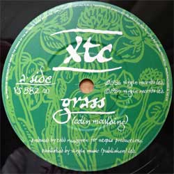 винил LP XTC ''Grass/Dear God'' (7''single) (1986 UK press, VS 882, ex+/sfc)