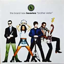 BRAND NEW HEAVIES ''Brother Sister'' (1994 France press, 828 490.2, matrix 00 L7, ex-/mint) (CD)