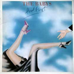 BABYS ''Head First'' (1978 RI 2009 UK press, CANDY053, matrix |CANDY053|025650|, ex+/mint) (CD)