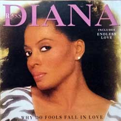DIANA ROSS ''Why Do Fools Fall In Love'' (1981 RI 1996 Holland press, DC 867202, matrix EMI Uden  1-1-7-NL, ex+/mint) (CD)