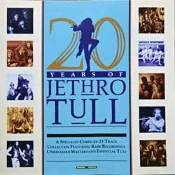 JETHRO TULL ''20 Years Of Jethro Tull'' (1988 UK press, CDP 32 1655 2, matrix 51:24 EMI SWINDON, mint/mint) (CD)