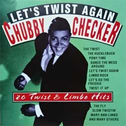 CHUBBY CHECKER ''Let's Twist Again: 20 Twist & Limbo Hits'' (1999 Portugal press, RMB 75058, matrix CDSNV, mint/near mint) (CD)