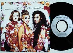 винил LP ARMY OF LOVERS ''Ride The Bullet'' (7''single) (1992 RARE German press, ULT 9509-7, ex/mint)