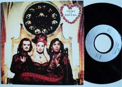 винил LP ARMY OF LOVERS ''Judgement Day'' (7''single) (1992 RARE German press, near mint/mint)
