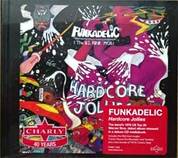 FUNKADELIC ''Hardcore Jollies'' (1976 RI 2014 UK/Poland press, 2 stickers, CHARLY X 685, mint/mint, still sealed) (digibook) (CD) (D)