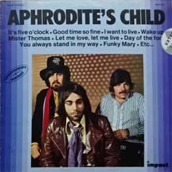 винил LP APHRODITE'S CHILD ''Aphrodite's Child'' (1976 France press, innersleeve, 6886 650, ex-/vg+)
