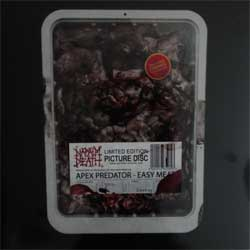 винил LP NAPALM DEATH ''Apex Predator - Easy Meat'' (picture-disc) (2015 RI 2019 German press, limited edition 1000 copies, gatefold, original sticker, AR089, new, sealed)