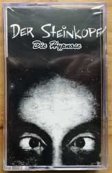 аудиокассета DER STEINKOPF ''Die Hypnose'' (2003 Russian press, mint/mint, still sealed!) (MC4366) (D)