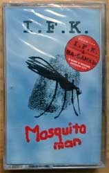 аудиокассета I.F.K. ''Mosquito Man'' (1996 Russian press, FL 3052-4, mint/mint, still sealed!) (MC4371)