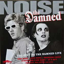 DAMNED ''Noise: The Best Of The Damned Live'' (1995 UK press, EMPRCD 592, matrix ''Mastered by Nimbus'', near mint/mint) (CD)