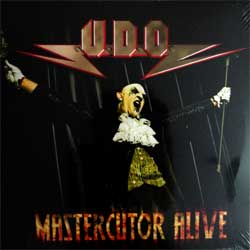 винил LP ACCEPT (U.D.O.) ''Mastercutor Alive'' (2LP-gatefold) (2008 RI 2011 EEC press, GCR 20042-1, mint/mint, new, sealed)