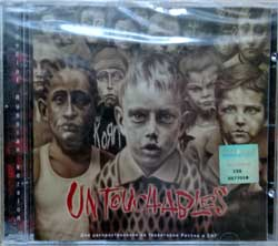 KORN ''Untouchables'' (2002 Russian press, holographic sticker Sony/BMG Russia, 5017700, mint/mint, still sealed) (CD) (D)