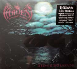 HADES ''Alone Walkyng'' (1993 RI 2017 Holland press, limited edition 1000 copies, remastered, originals sticker, HHR 2017-02, new, sealed) (digipak) (CD)