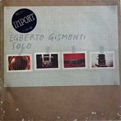винил LP EGBERTO GISMONTI ''Solo'' (1979 German press, textured, ECM 1136, ex-/vg+)