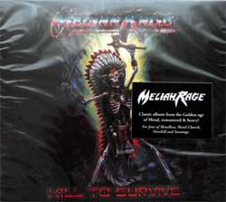 MELIAH RAGE ''Kill To Survive'' (1988 RI 2018 Holland press, O-card, bonustracks, original sticker, HHR 2018-16, new, sealed) (2xCD)