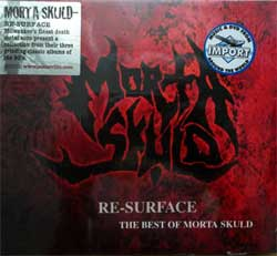 MORTA SKULD ''Re-Surface… The Best Of Morta Skuld'' (2005 UK press, original sticker, CDVILED135, new, sealed) (digipak) (CD)