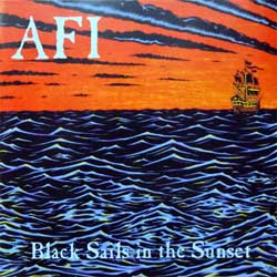 AFI ''Black Sails In The Sunset'' (1999 RI 2001 Russian press, CTCR-17057, mint/mint) (CD)