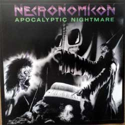 NECRONOMICON ''Apocalyptic Nightmare'' (1987 RI 2013 Colombian press, WAR-09, mint/mint, new) (CD)