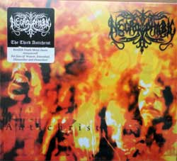 NECROPHOBIC ''The Third Antichrist'' (1999 RI 2018 Holland press, original sticker, HHR 2018-11, new, sealed) (digipak) CD)