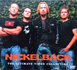 NICKELBACK ''The Ultimate Video Collection'' (2007 Russian press, RR 0926-9, ex/ex) (digipak) (DVD)
