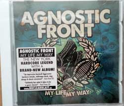 AGNOSTIC FRONT ''My Life My Way'' (2011 German press, original sticker, NB 2349-2, new, sealed) (CD)