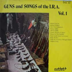 винил LP GUNS and SONGS of the I.R.A. Vol.1 (1971 North Ireland press, laminated, ex/ex)