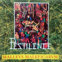 PESTILENCE ''Malleus Maleficarum'' (1988 RI 1998 Holland press, 8 bonustracks, D-00061, mint/mint, new) (CD)