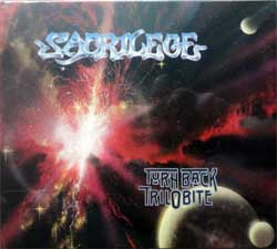 SACRILEGE ''Turn Back Trilobite'' (1989 RI 2018 Holland press, 3 bonustracks, HHR 2018-02, new, sealed) (digipak) (CD)