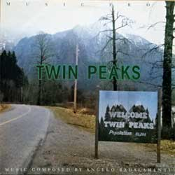винил LP ANGELO BADALAMENTI ''Music From Twin Peaks'' (1991 German RARE press, 7599-26316-1, ex/ex)