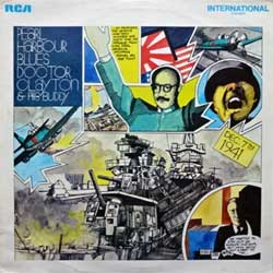 винил LP DOCTOR CLAYTON'S BUDDY ''Pearl harbour Blues'' (1970 UK press, green RCA International labels, laminated, INT 1176, vg+/ex)